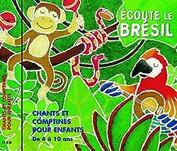 Initiation au brésilien en musique CD musique brésilienne pour enfants