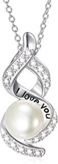 love purity pearl necklace
