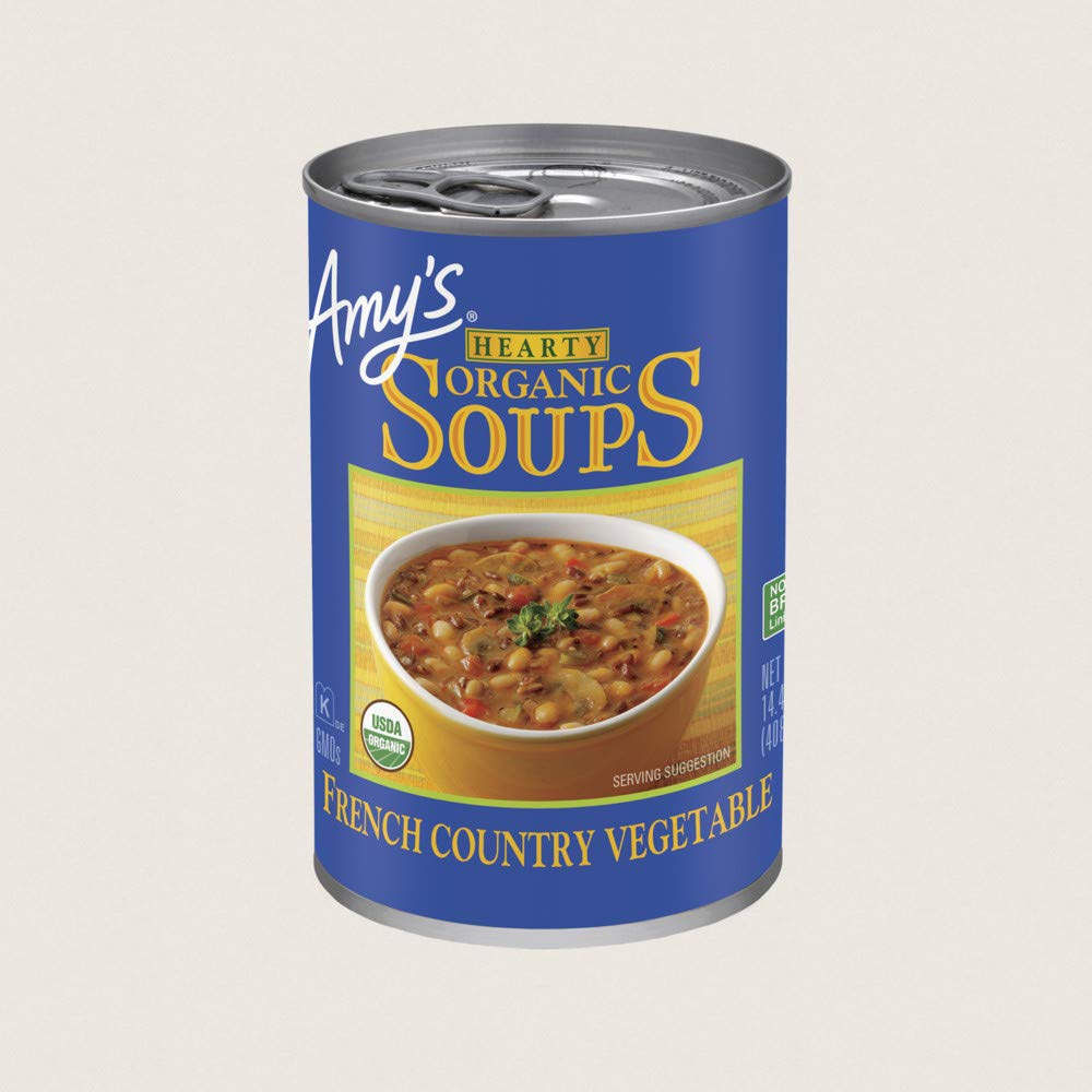 Direct sale of manufacturer Amy's French Country Vegetable Hearty Clearance SALE! Limited time! 14 Organic oz Soup Pack