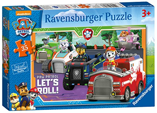 Ravensburger Paw Patrol - Puzzle de 35 Piezas