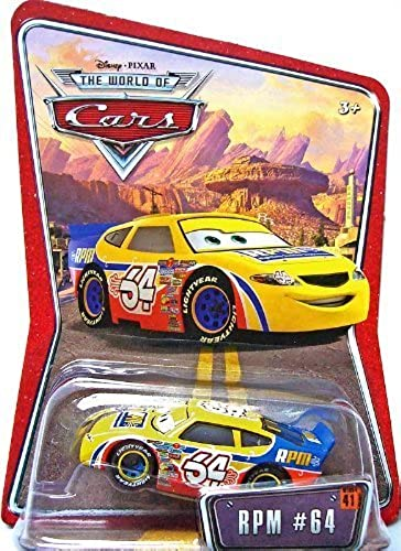 Disney Pixar Cars RPM  64 1 55 Racer Die-cast Vehicle by World Of Cars