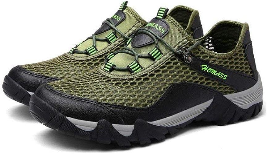 Hhor Chaussures de Plein air pour Homme, Sandales de Sport pour entraîneur à séchage Rapide, Chaussures de randonnée, Chaussures de Marche, Chaussures de Sport
