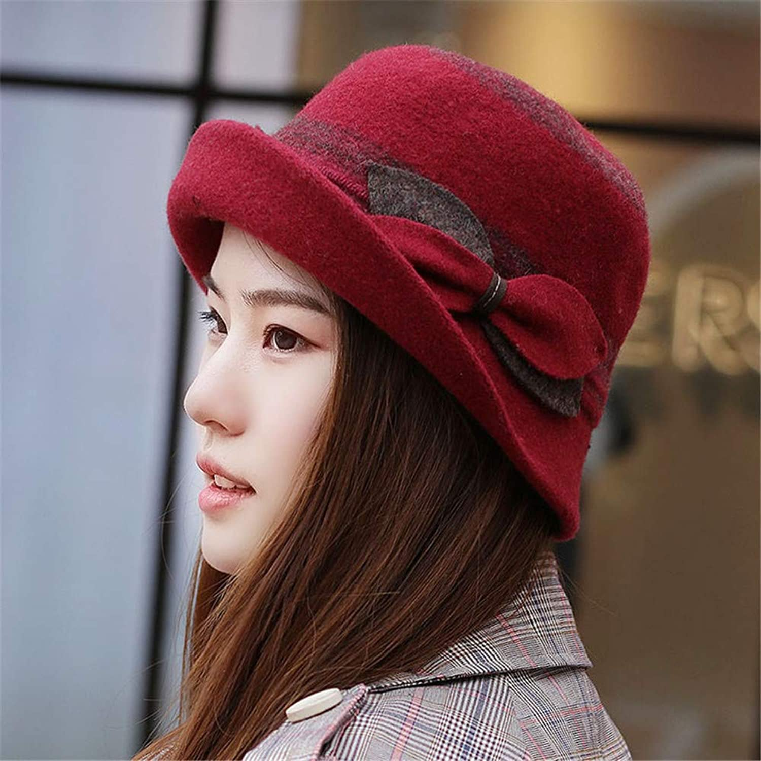 Women's Hat Autumn Winter Basin Hat Flat Top Fisherman Hat Floral Hat Hat Hat Etc