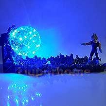 Super Saiyan Power Up Led Lighting Anime Dragon Ball Led Desk Lamp Vegeta Dragon Ball Super Evil Vegeta Night Lights for Xmas