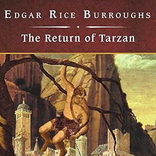 The Return of Tarzan audiobook cover art