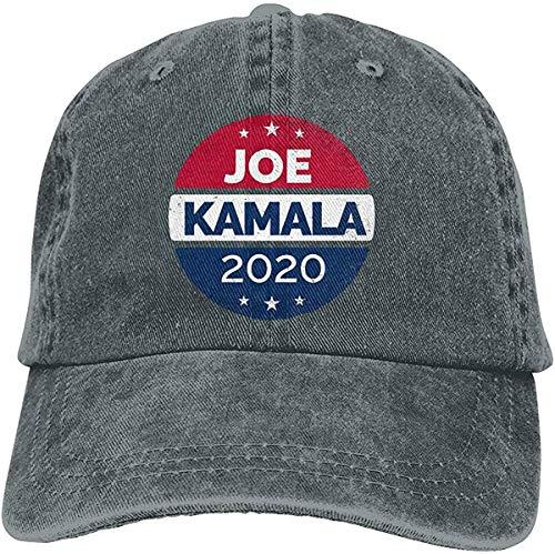 2020 Elección Vintage Botón Biden Harris Ajustable Vintage Denim Lavado Algodón Dad Sombrero Gorra De Béisbol Al Aire Libre Sombrero De Sol Sombrero-DeepHeather