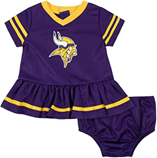 NFL Girls Dress and Diaper Cover