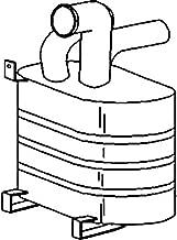Aftermarket Muffler Replaces John Deere 2940 3040 3140 AL30338