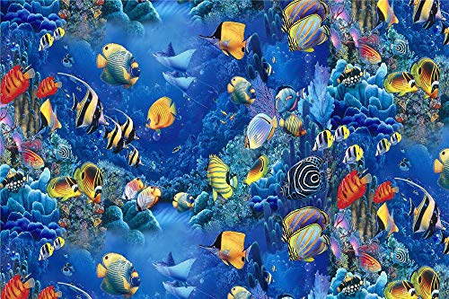 FAWFAW Wooden Jigsaw Puzzle For Adults 500 Pieces, Amazing Ocean Fish Puzzle Games Home Decor Gifts, 1500/1000/500/300 Pieces