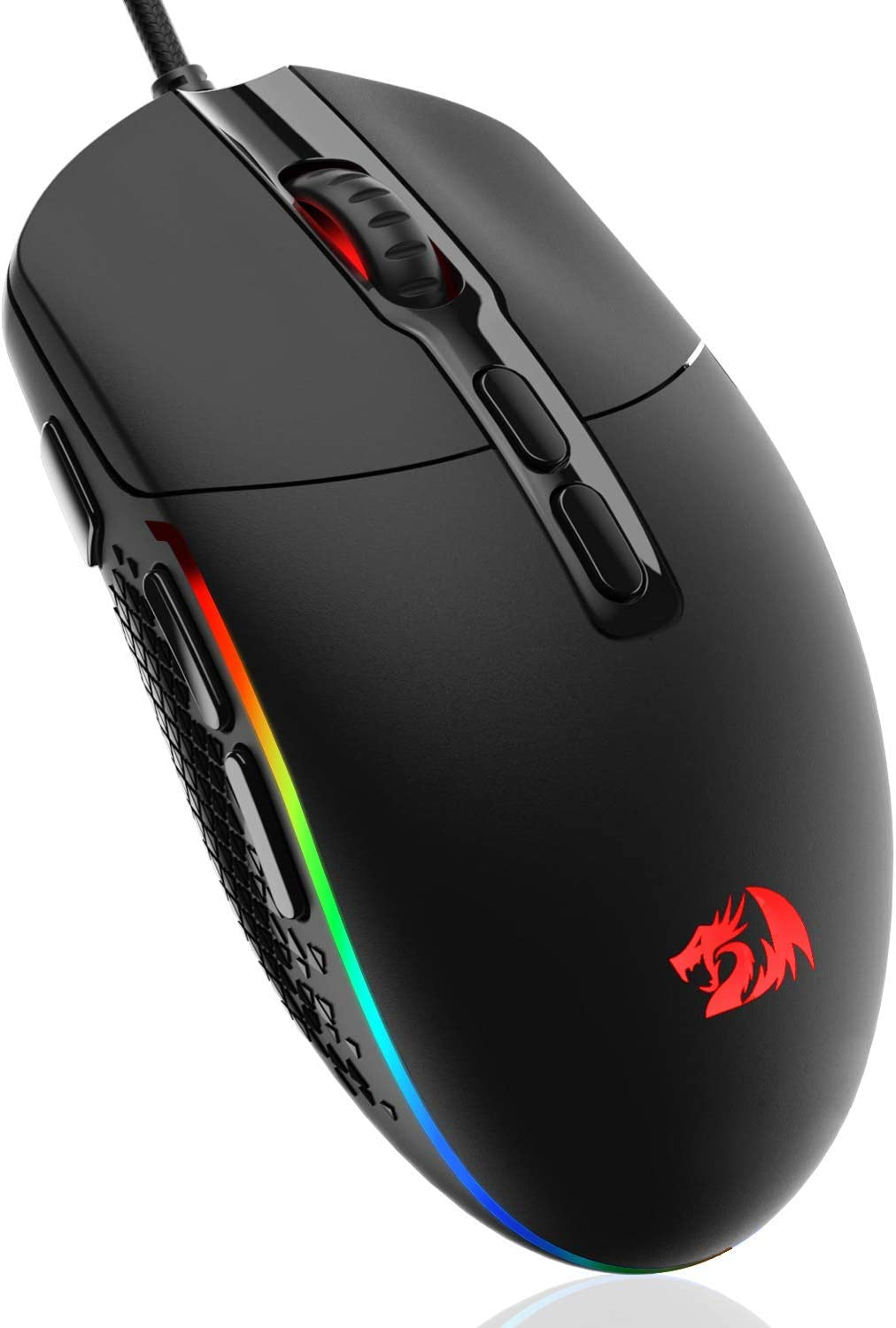 specialty shop Redragon M719 Invader Wired Optical OFFicial Mouse 7 Programmable Gaming