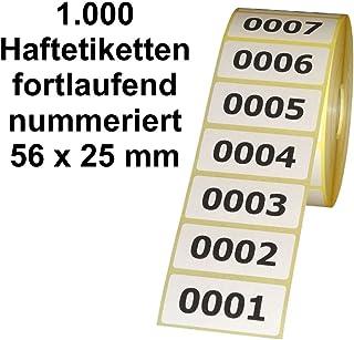 Leuchtrot AktionsetikettenAKTION mit Rand 2 Durchmesser 30 mm 1.000 St/ück