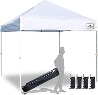 Keymaya Ez Commercial Instant Tent Heavy Duty Pop-up Canopy Shelter Bonus Weight Bag 4-pc Pack