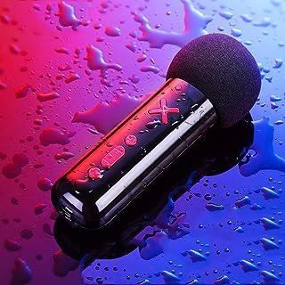 DKee Micrófono Ancla Cambiar El Sonido del Micrófono K Vivo Song Teléfono con Cable Micrófono Condensador 13 * 4cm (Color ...