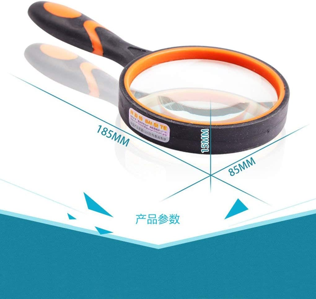 LXX Magnifying Glass Special Philadelphia Mall price for a limited time Multipurpose Portable Magnifier Op 10 Times