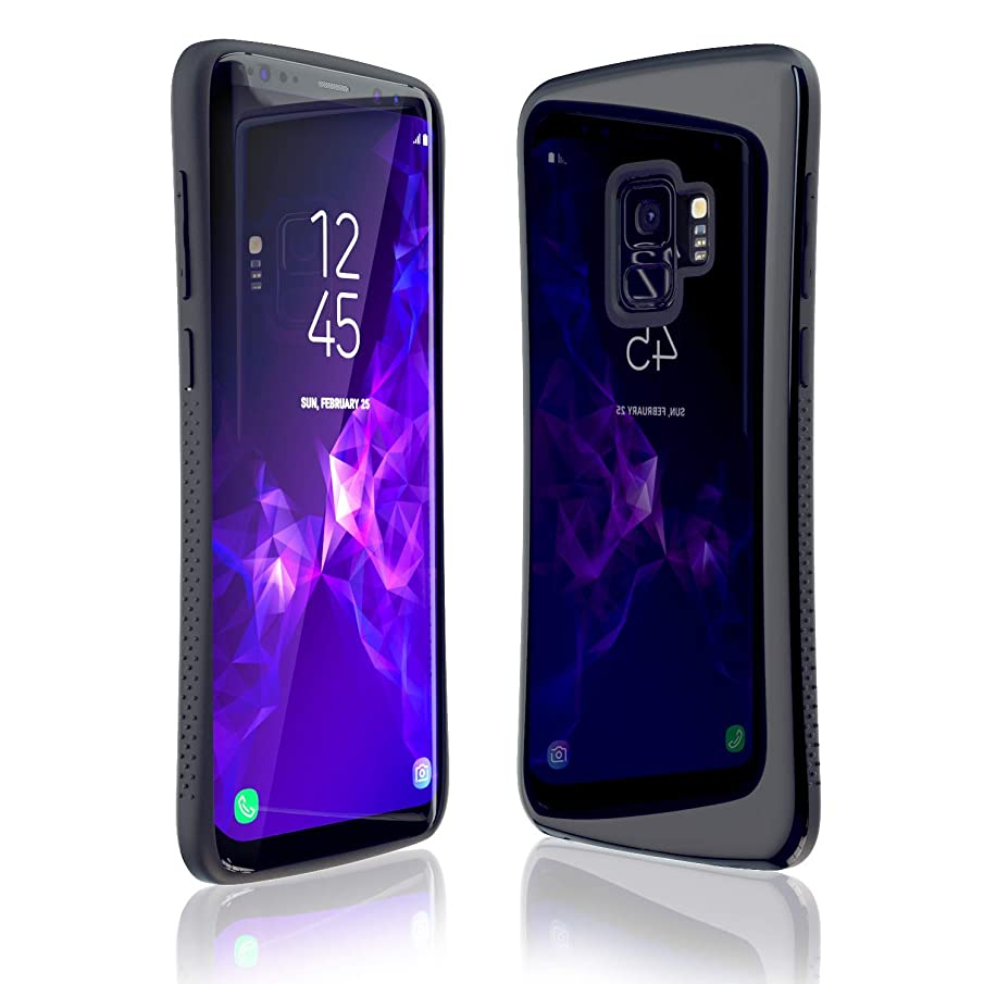 Samsung Galaxy S9 Plus Case   Premium Luxury Design   Military Grade 15ft. Drop Tested   Wireless Charging   Compatible with Samsung Galaxy S9 Plus - Black
