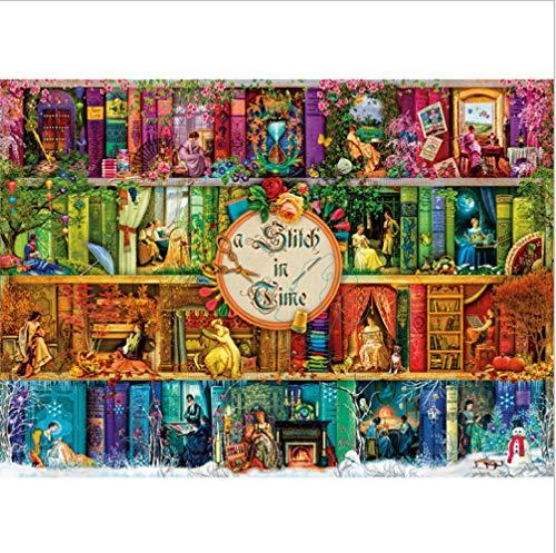 ALIANSHUO Puzzles para Adultos 1000 Piezas La Vida Cotidiana De Una Dama Medieval. Jigsaw Puzzles Classic Rompecabezas De Juguete 75x50cm