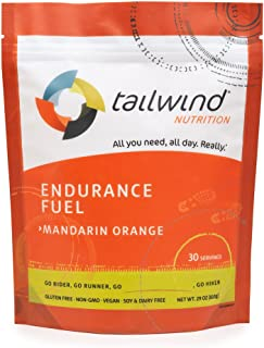 Tailwind Nutrition Mandarin Orange Endurance Fuel 30 Serving - Hydration Drink Mix with Electrolytes, Carbohydrates - Non-...