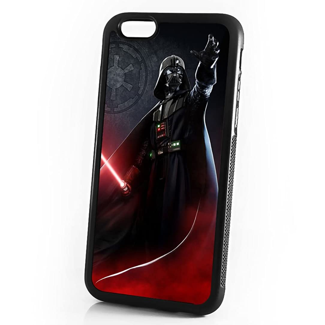 ( For iPhone 6 / iPhone 6S ) Durable Protective Soft Back Case Phone Cover - A11432 Starwars Darth Vader