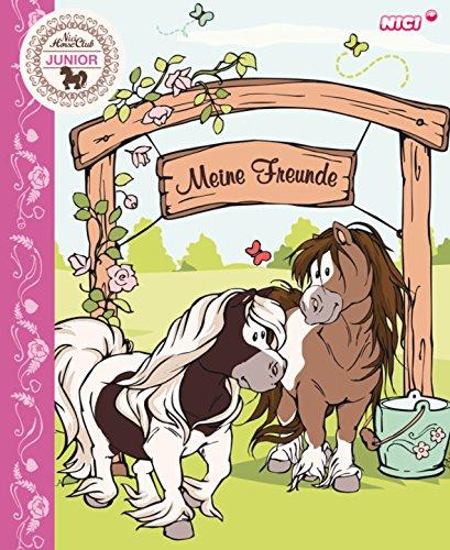 Nici 37142 - Freundebuch Pony Poonita, deutsch, 15 x 18 cm