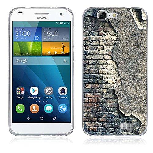 FUBAODA für Huawei Ascend G7 Hülle, Künstlerische - Serie TPU Case Schutzhülle Silikon Case für Huawei Ascend G7