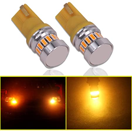 T10-White Eseastar 501 LED Bulbs T10 12V-24V W5W 194 168 161 12961 20LED SMD3014 with Projector For Car Sidelight Backup Interior Dome Number Plate Light
