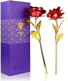 MSA JEWELS Combo of Red Rose Flowers in Gift Box