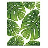 Fashion Palm Leaf Leinwand rahmenlose Gemälde Home Office Art Wand Dekoration, Canvas, 2#, 50 x 70 cm