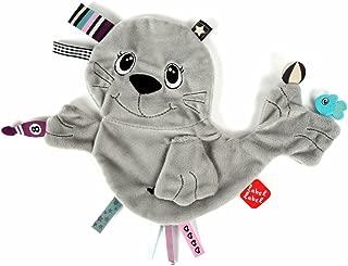 Vital Innovations Label-Label FR14099 Label-Label Cuddly Toy Sea Lion, Grey