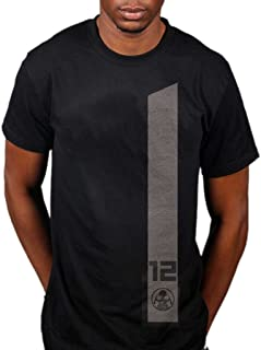 AWDIP Men's Official Hunger Games District 12 T-Shirt Television Movie Catching Fire Mining