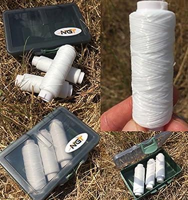 Koike BAIT ELASTIC x 3 COMPLETE IN STORAGE TACKLE BOX SEA FISHING TACKLE BAITS HOOKS