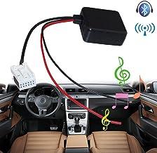 Módulo Bluetooth para coche, MASO E60 Radio estéreo Aux Cable adaptador Mini Kit Receptor de coche Adaptador Filtro de Piezas Radio con Filtro Entrada de Inalámbrico