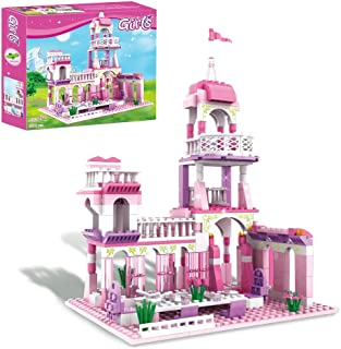 CLToys Girls Building Blocks Toys 254 Pieces Princess...