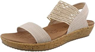 Skechers BRIE - MOST WANTED womens Wedge Sandal