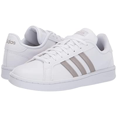 adidas Grand Court (Footwear White/Platinum Metallic/Footwear White) Women