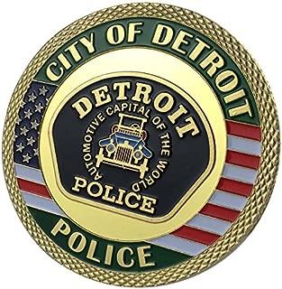 Detroit Police Department / DPD G-P Challenge coin 1146#