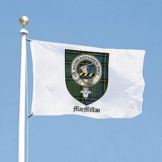 VinMea Funny Flags MacMillan Clan Crest Tartan, Decoration Flag for Dorms Room Garden Yard 3x5 Feet / 35x59 Inch