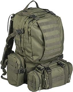 Mil-tec Od Defense Pack Assembly - Mochila de Senderismo, estilo militar, color verde olive, 36 Litros