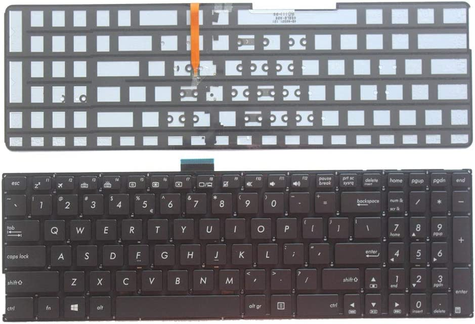 New All items free shipping Laptop Replacement Keyboard Fit A50 K501L Reservation K501LX Asus K501LB