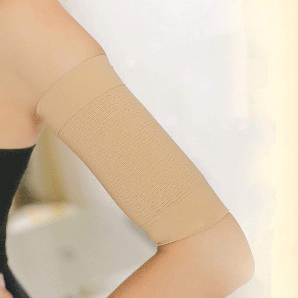 満州真剣に粘り強い1ペア420 d圧縮痩身アームスリーブワークアウトトーニングバーンセルライトシェイパー脂肪燃焼袖用女性