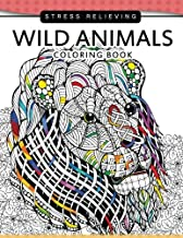 Wild Animals Coloring Books: A Safari Coloring books for Adutls Stress Relieving