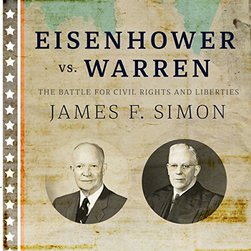 Eisenhower vs. Warren audiobook cover art
