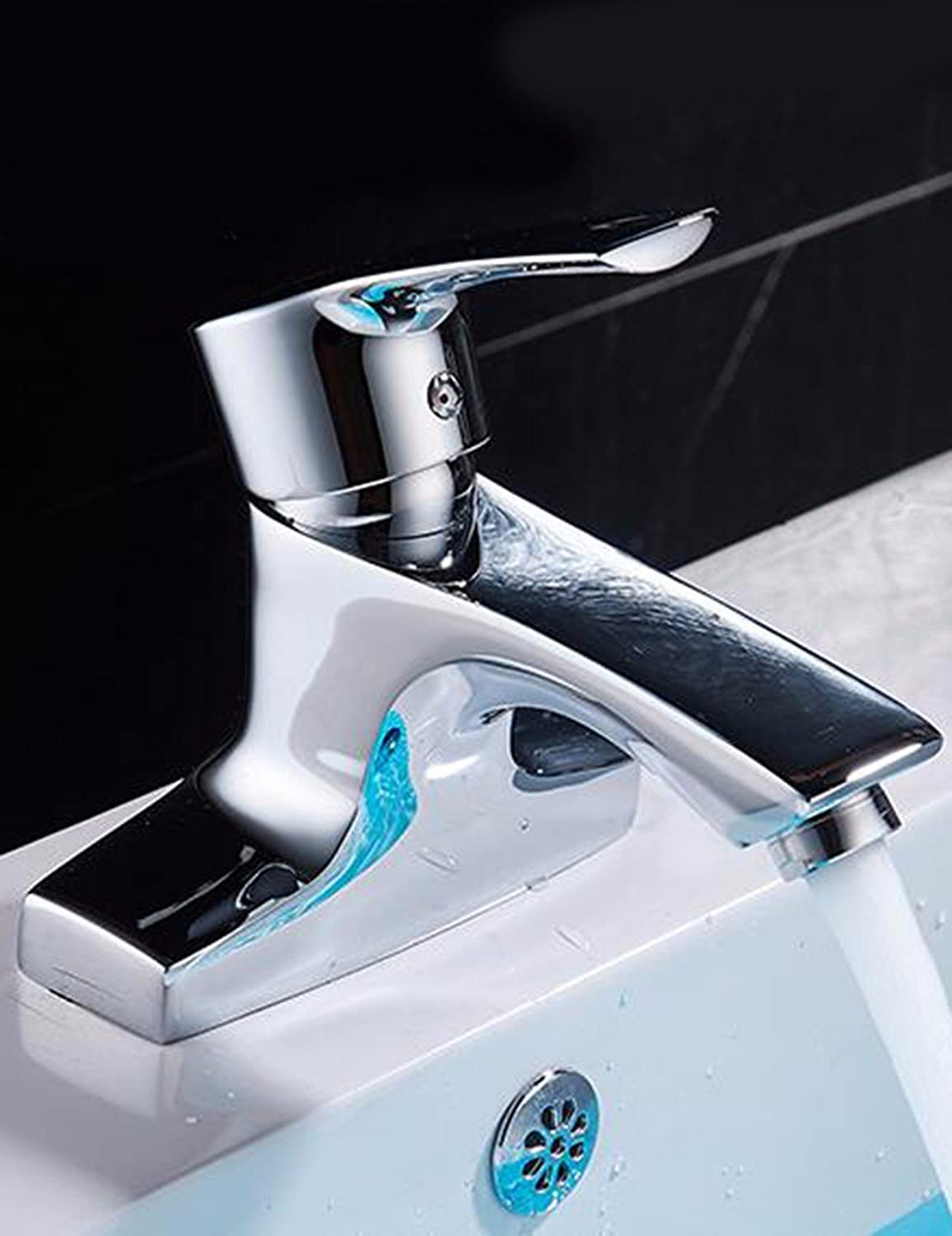 Hlluya Professional Sink Mixer Tap Kitchen Faucet Hot and Cold Basin Sinks Faucets single handle double-hole Faucet