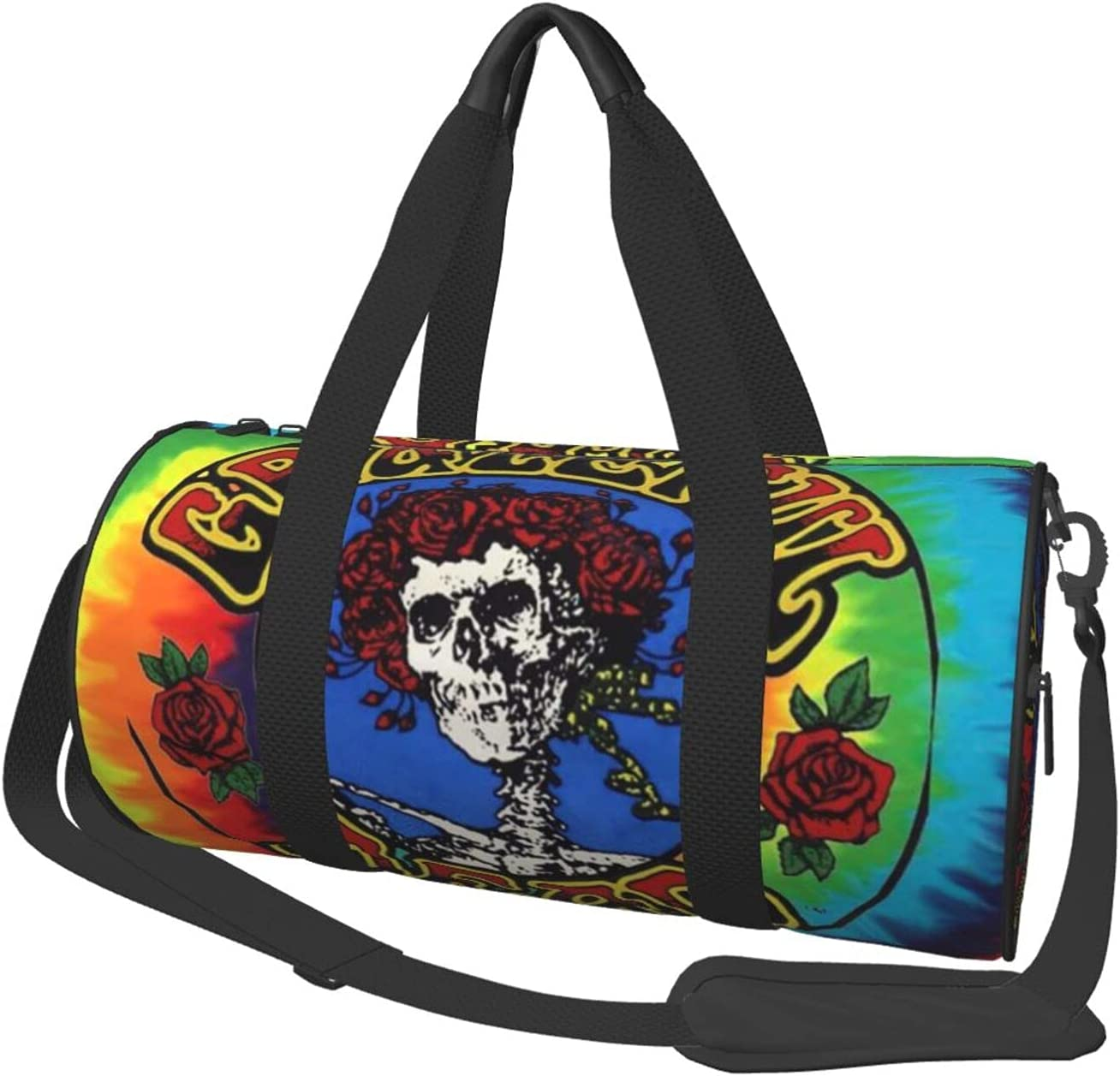 Grate-ful Dead Dancing price Bears Spiral Gym Lightw Duffel Bag We OFFer at cheap prices Barrel