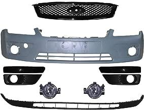 Set Stoßstange vorne lackierbar+Nebel+Zubehör Ford Focus II Bj 04-08