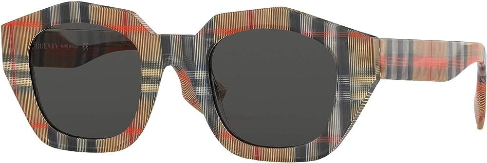 Burberry, burberrys occhiali da sole rettangolari  per donna, 100 % acetato BE 4288
