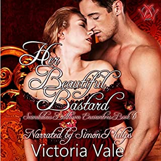 Her Beautiful Bastard: A Regency Erotic Romance audiobook cover art