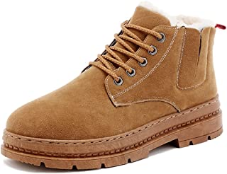 メンズシューズ、ウィンターコンフォートハイトップスニーカー、軽量運動靴、レースアップ豪華な革の靴、暖かい綿の靴、スノーシュー、ランニングシューズ、ウォーキングシューズ,A,41