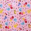 シャルビー ペネロペ オックス生地 幅約110cm 50cmカット ピンク