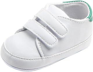 Fossen Kids, Zapatos de Bebe Niño Primeros Pasos, Zapatilla de Deporte con Loop Fastener, Sneaker Zapatilla de Recién Nacido 3-12 meses