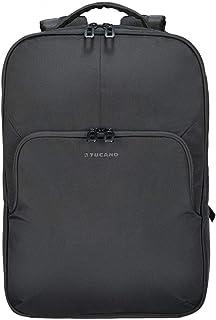 Salvo Eco - Mochila para portátil de hasta 15,6 pulgadas, mochila de negocios hecha de botellas de PET recicladas, color negro